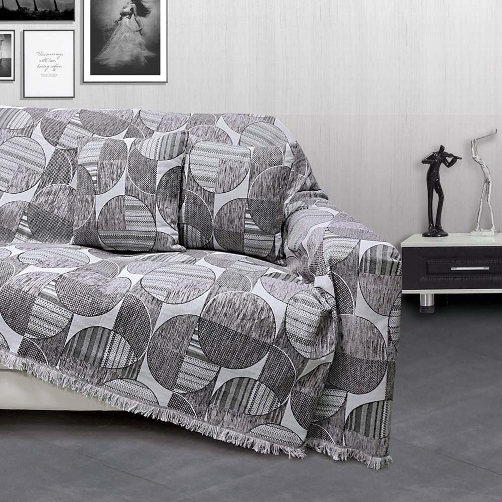 Ριχτάρι Διθέσιου (180×240) Sb Home Marsa Grey