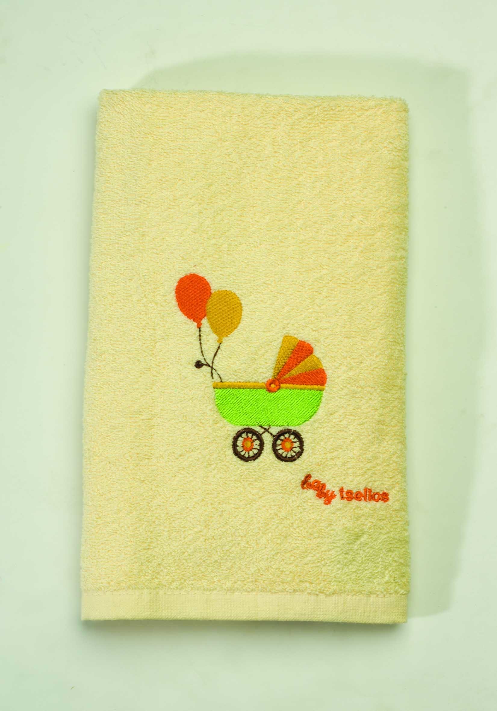 Βρεφικές Πετσέτες (Σετ 2τμχ) Makis Tselios Baby Walk