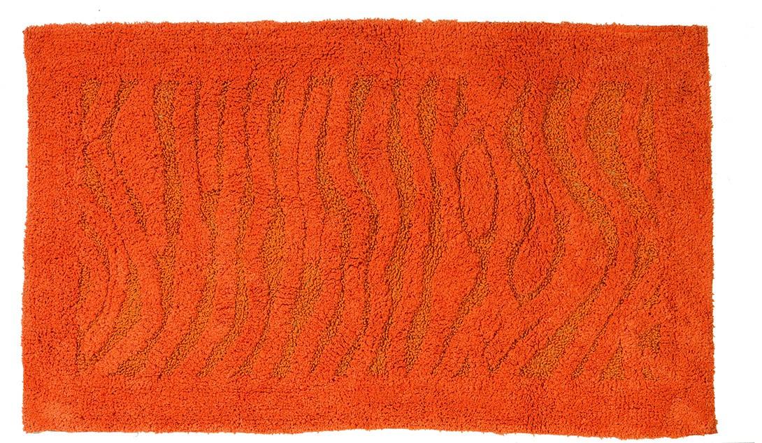 Πατάκι Μπάνιου (60x100) Makis Tselios Alina Πορτοκαλί