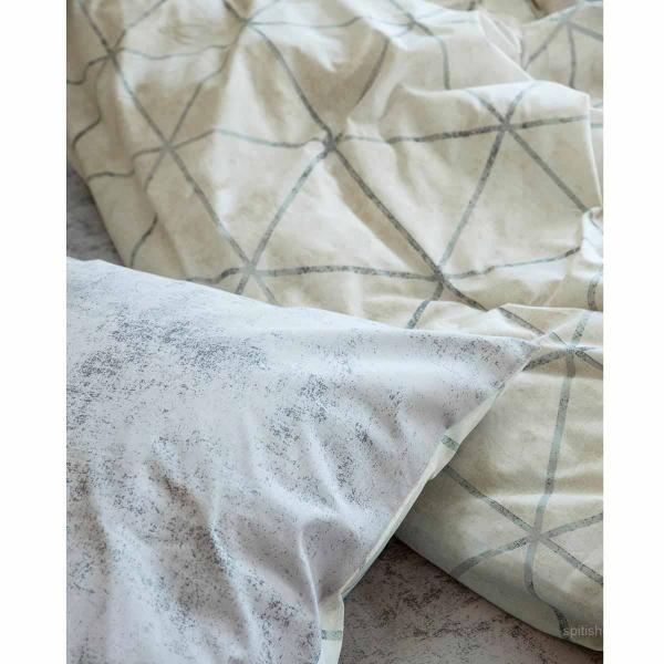 Παπλωματοθήκη Μονή (Σετ) Nima Bed Linen Swank Beige