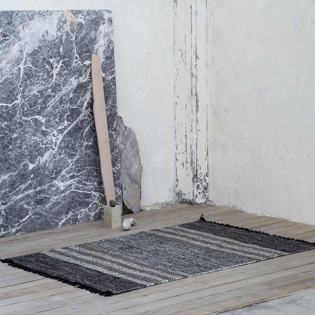 Δερμάτινο Χαλάκι (60×130) Nima Deco Jodar