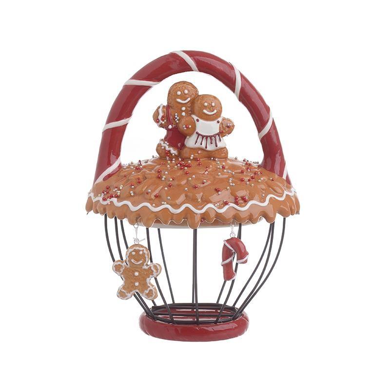 Χριστουγεννιάτικο Καλάθι InArt GingerBread Man 2-70-945-0022