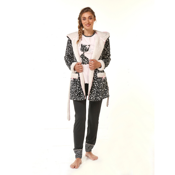 Πιτζάμα Γυναικεία Χειμωνιάτικη Mara-M M2929-18