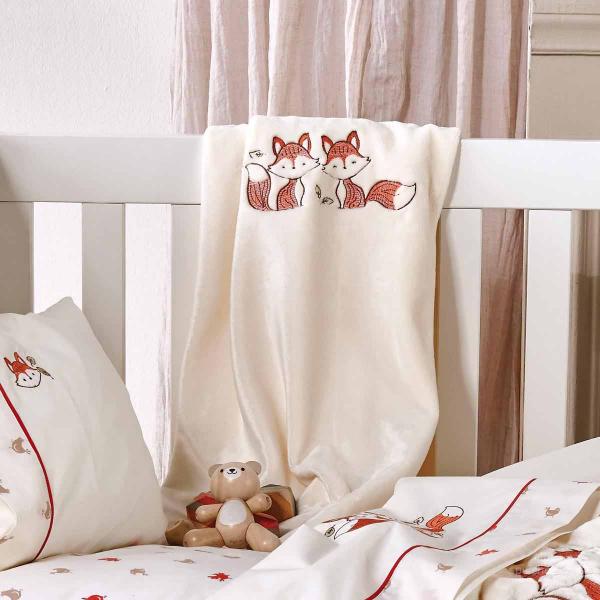 Κουβέρτα Fleece Αγκαλιάς Kentia Baby Clever