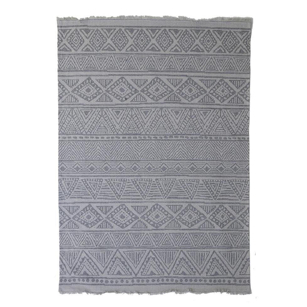 Χαλί Διαδρόμου (67×140) Royal Carpets Casa Cotton 22097 Grey