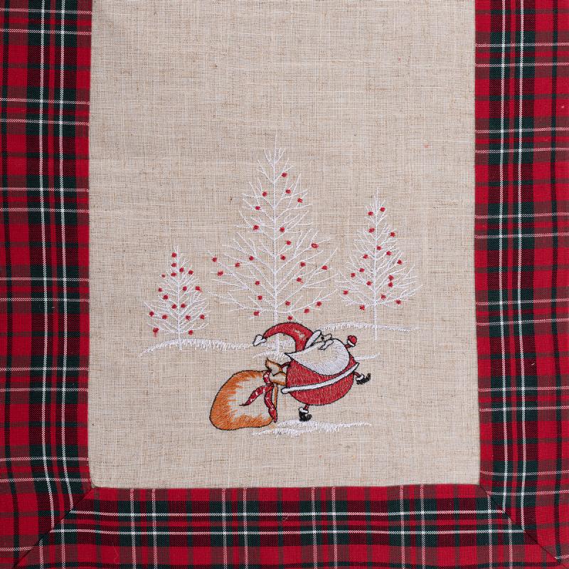 Χριστουγεννιάτικη Τραβέρσα (45x175) Silk Fashion 4096