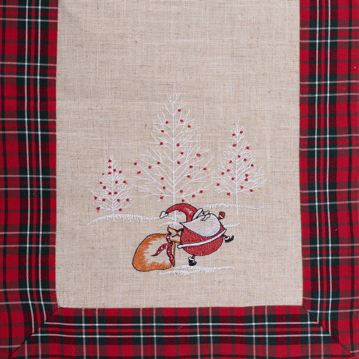 Χριστουγεννιάτικη Τραβέρσα (45×175) Silk Fashion 4096