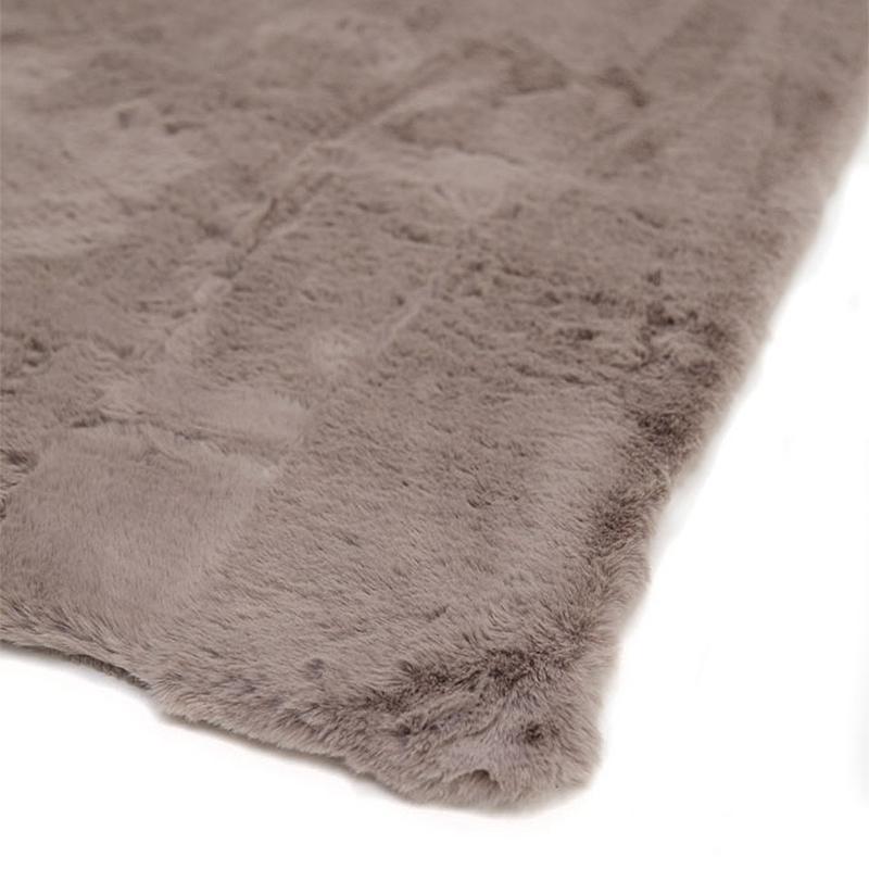 Γούνινο Χαλί Διαδρόμου (67×140) Royal Carpets Bunny Taupe
