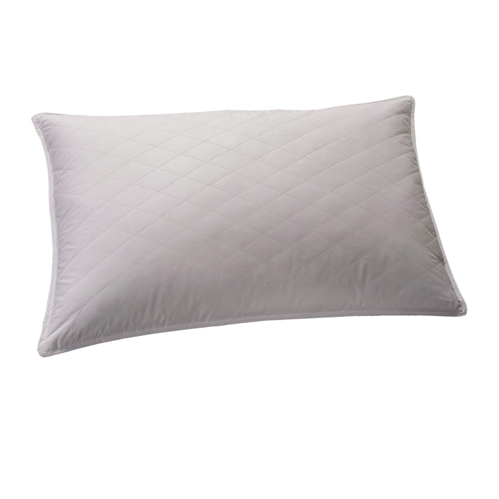 Μαξιλάρι Ύπνου Πουπουλένιο Viopros Με Καπιτονέ Επένδυση