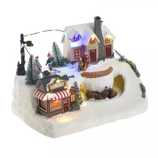 Χριστουγεννιάτικο Διακοσμητικό Με Φως/Κίνηση/Μουσική InArt 2-70-785-0004