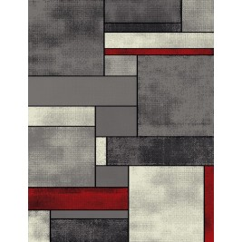 Χαλί (67x180) Viopros Μόντερν Γκρι