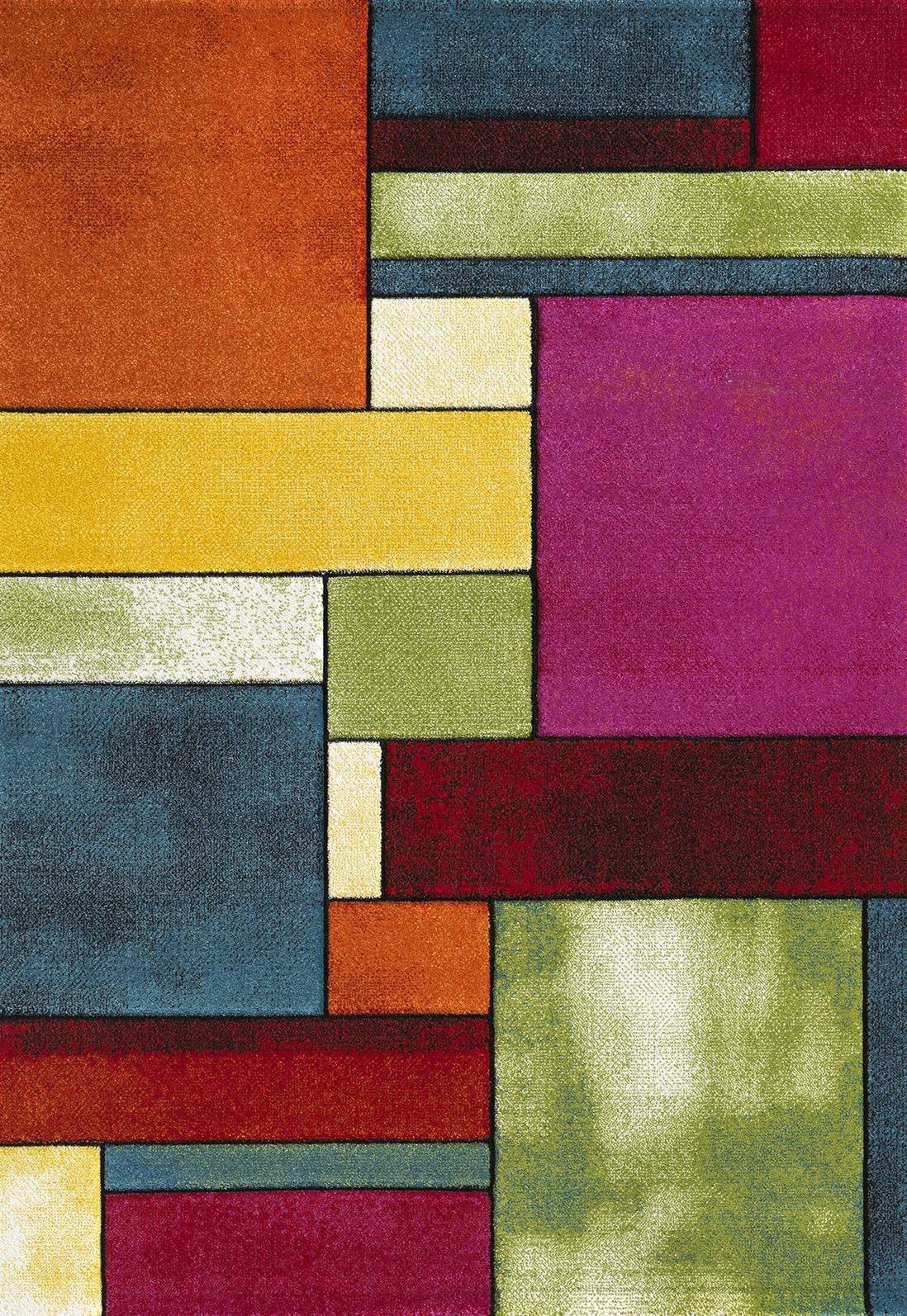 Χαλί (133x190) Viopros Μόντερν Πολύχρωμο