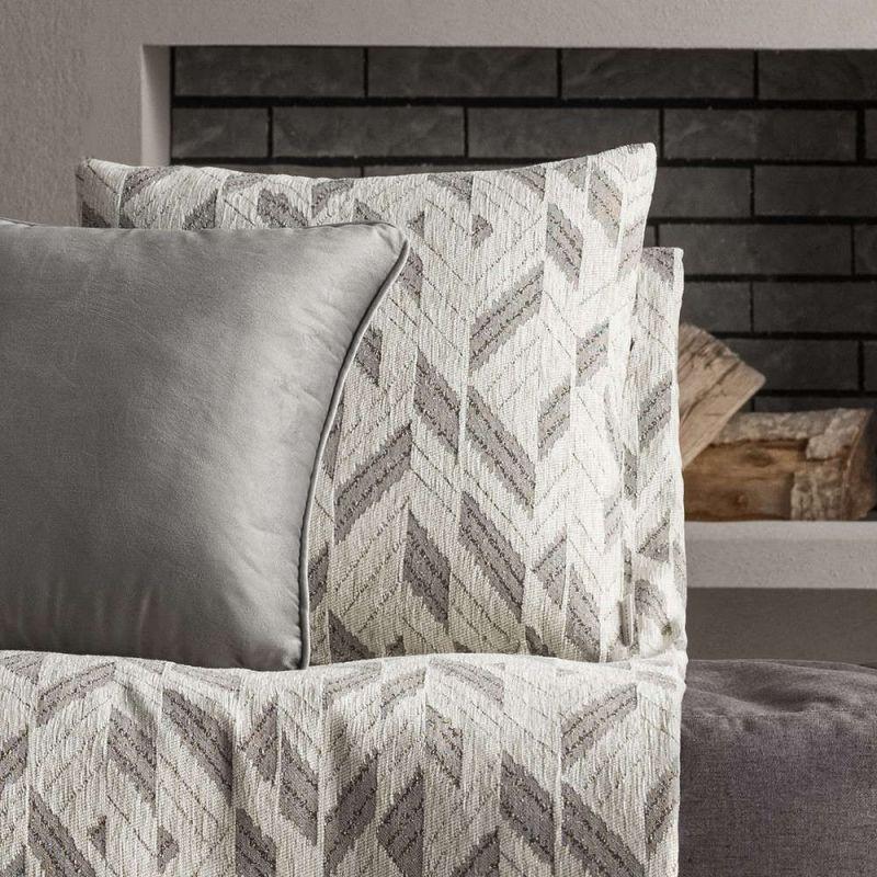 Διακοσμητική Μαξιλαροθήκη (50×50) Gofis Home Niagra Grey 842/15