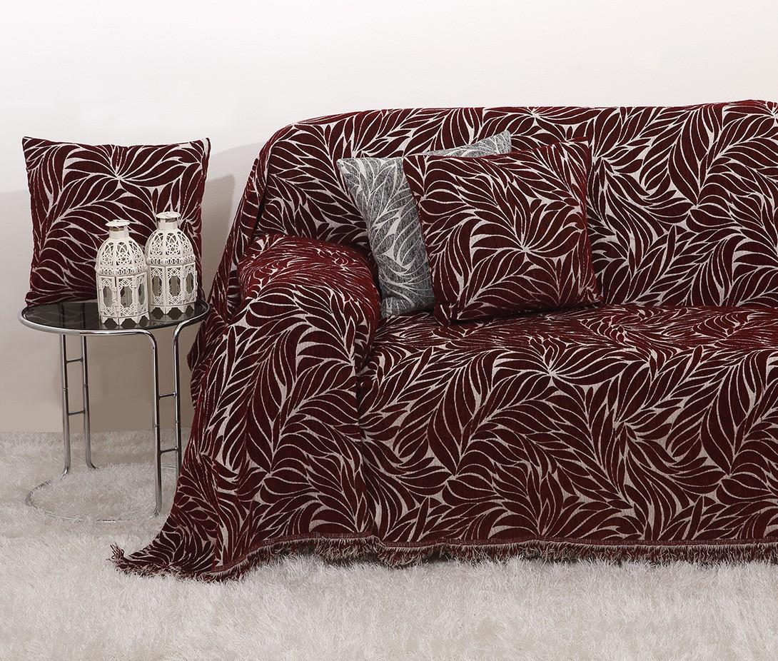 Σετ Ριχτάρια (3 τμχ) Viopros 2020 Μπορντώ home   σαλόνι   ριχτάρια καναπέ