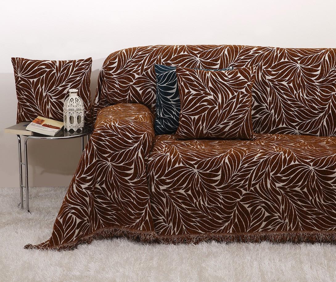 Ριχτάρι Πολυθρόνας (170×170) Viopros 2020 Σοκολά