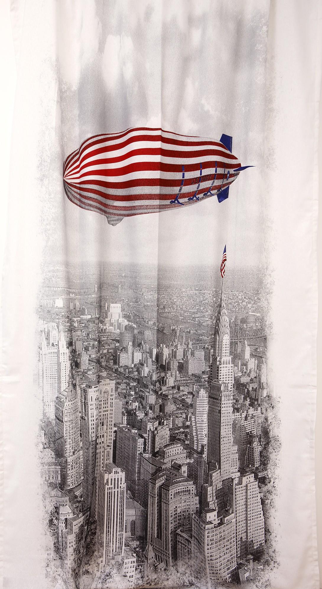 Κουρτίνα (145x270) Viopros Νέα Υόρκη