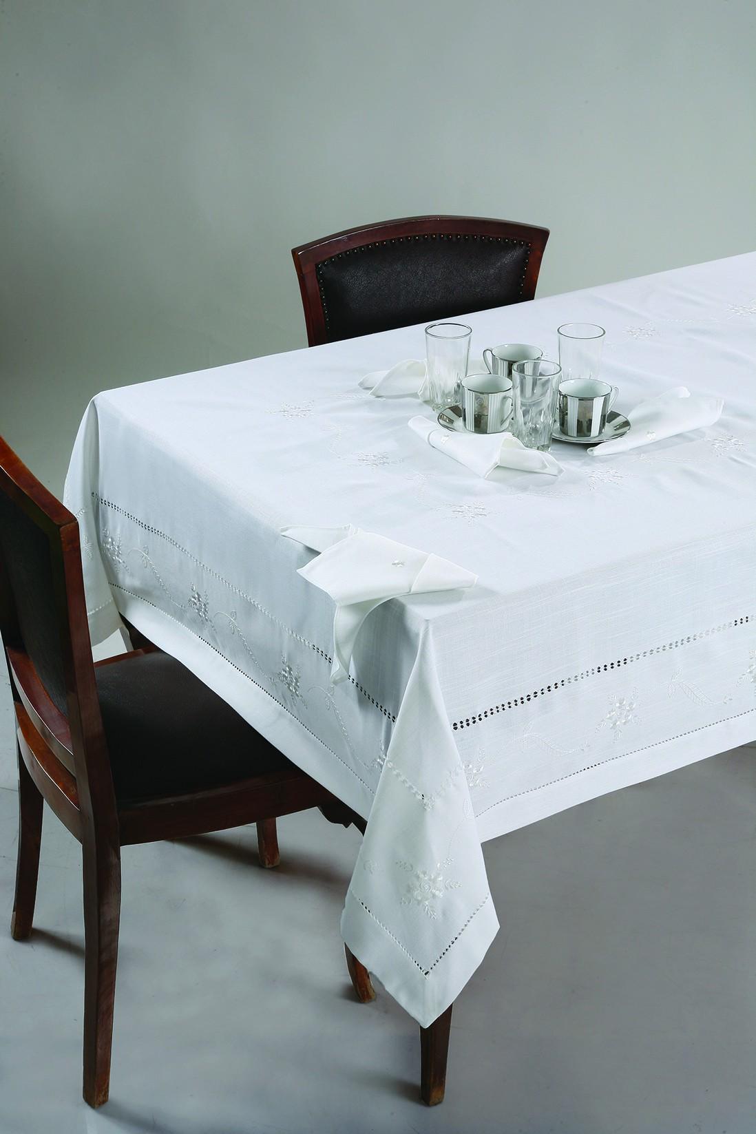 Τραπεζομάντηλο 8 Ατόμων (160x230) Viopros 16052 home   κουζίνα   τραπεζαρία   τραπεζομάντηλα