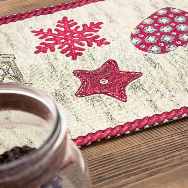 Χριστουγεννιάτικο Σεμέν (40x100) Gofis Home 148