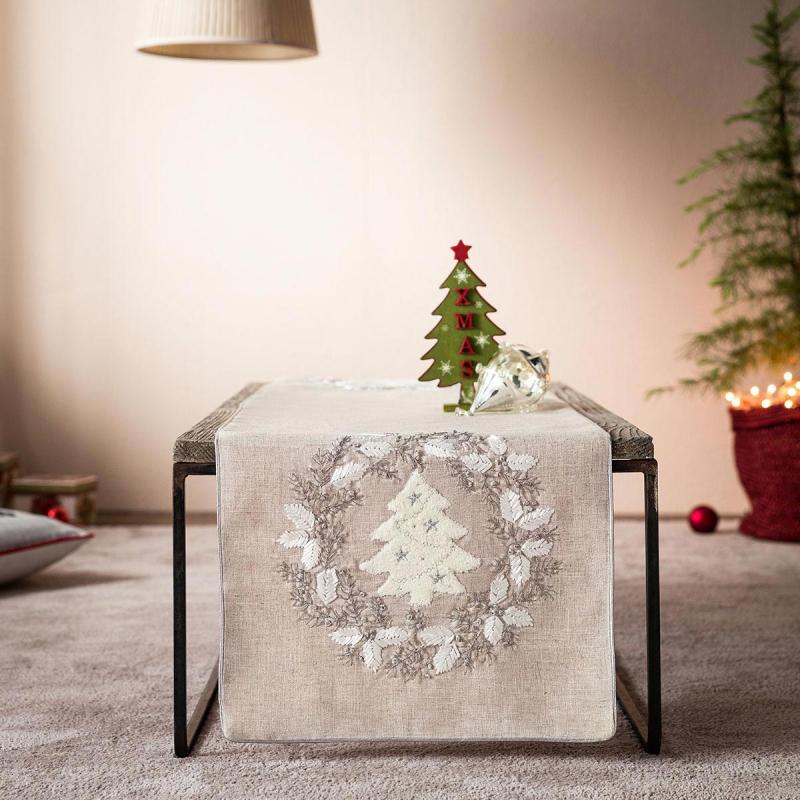 Χριστουγεννιάτικο Σεμέν (40x120) Gofis Home 838