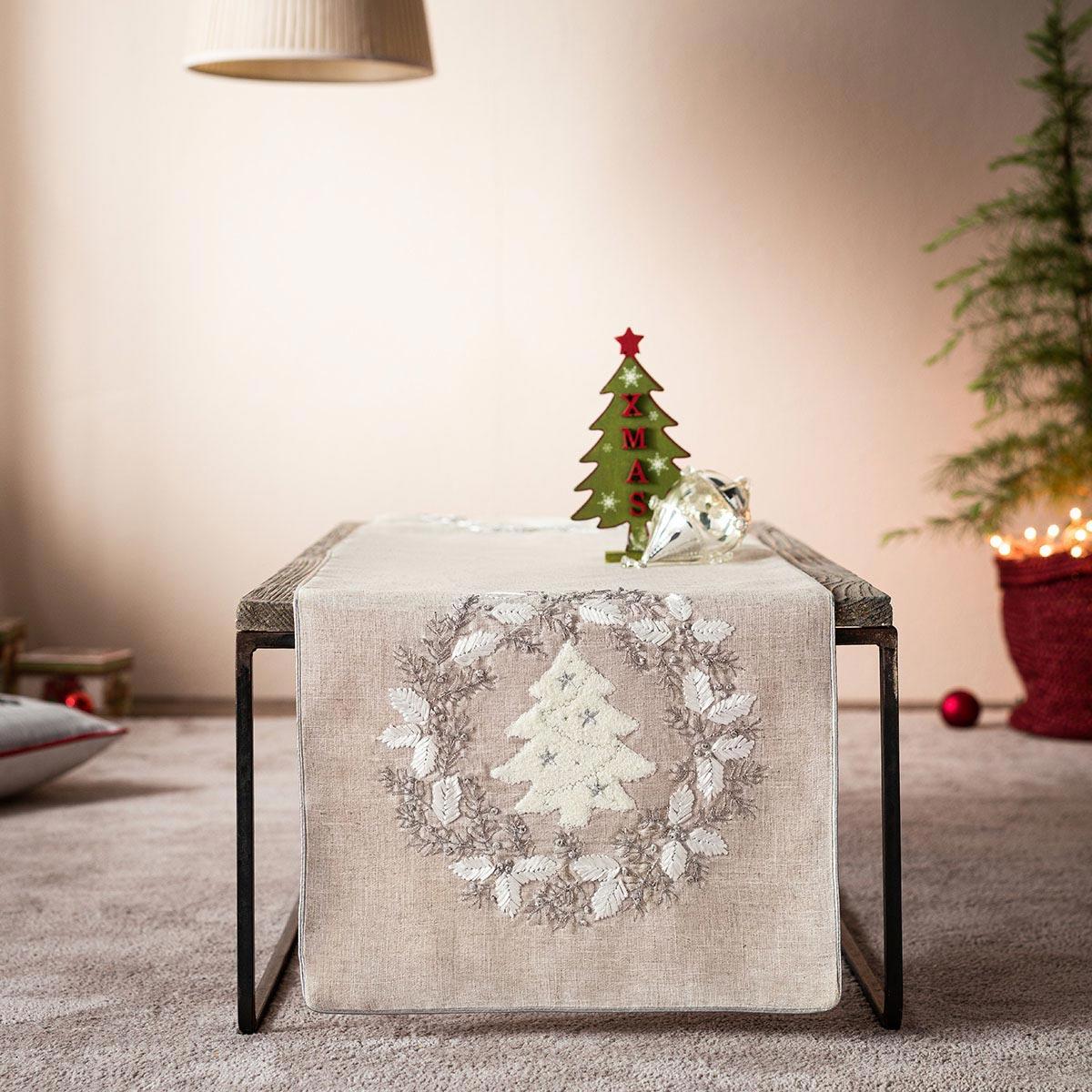 Χριστουγεννιάτικο Σεμέν (40×120) Gofis Home 838