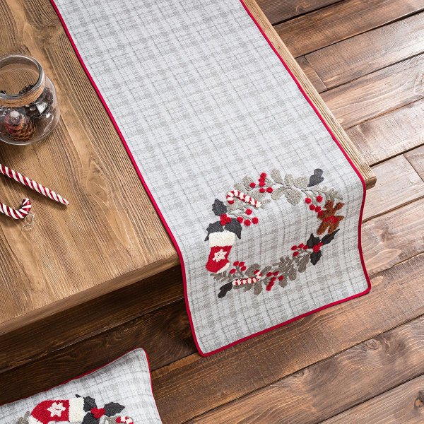Χριστουγεννιάτικο Σεμέν (40x120) Gofis Home 790