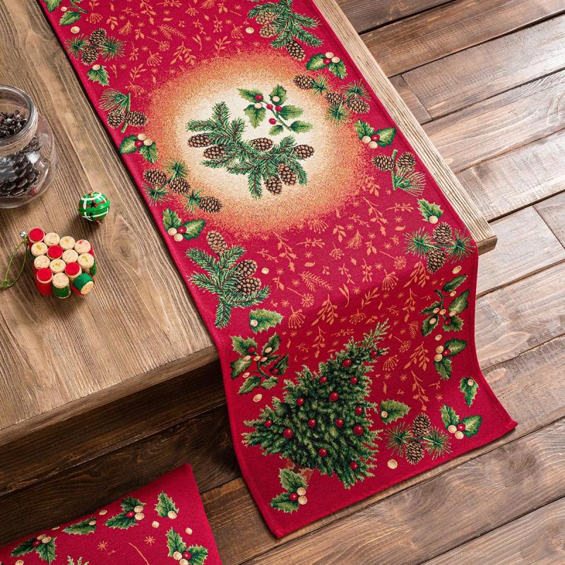 Χριστουγεννιάτικο Σεμέν (40x100) Gofis Home 603
