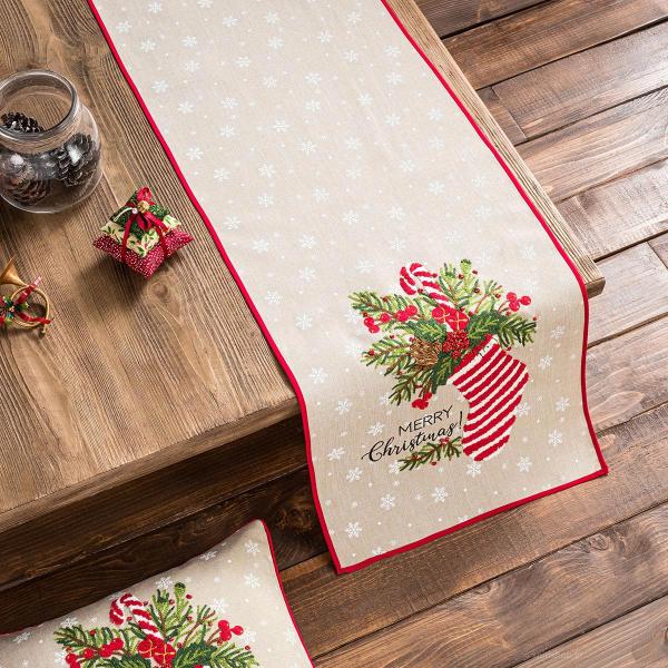 Χριστουγεννιάτικο Σεμέν (40x120) Gofis Home 601