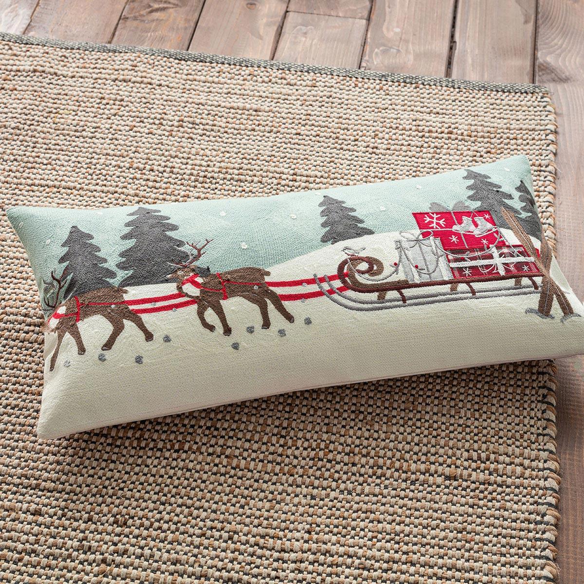 Χριστουγεννιάτικο Μαξιλάρι (30×60) Gofis Home 516