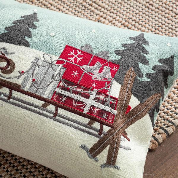 Χριστουγεννιάτικο Μαξιλάρι (30x60) Gofis Home 516