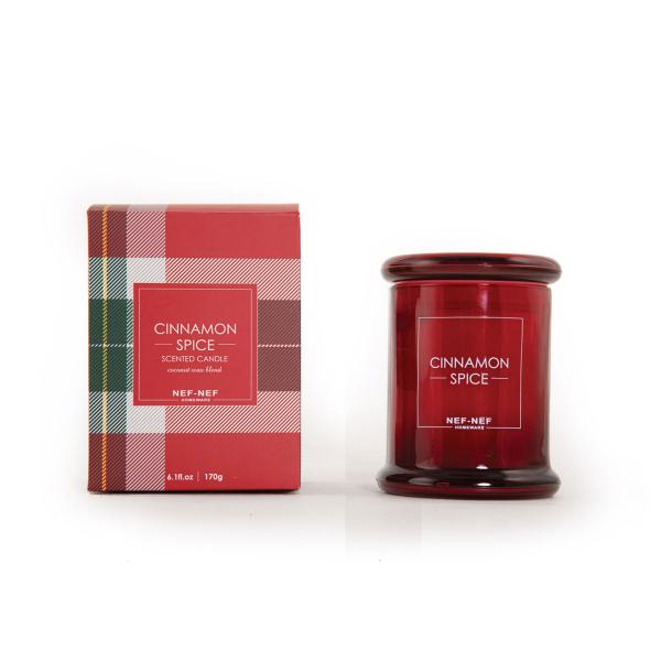 Αρωματικό Κερί 170gr Nef-Nef Cinnamon Spice