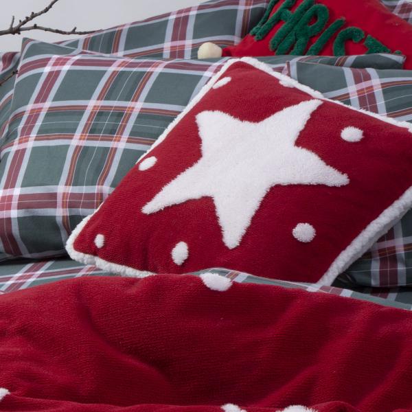 Χριστουγεννιάτικο Μαξιλάρι (45x45) Nef-Nef Sparkling