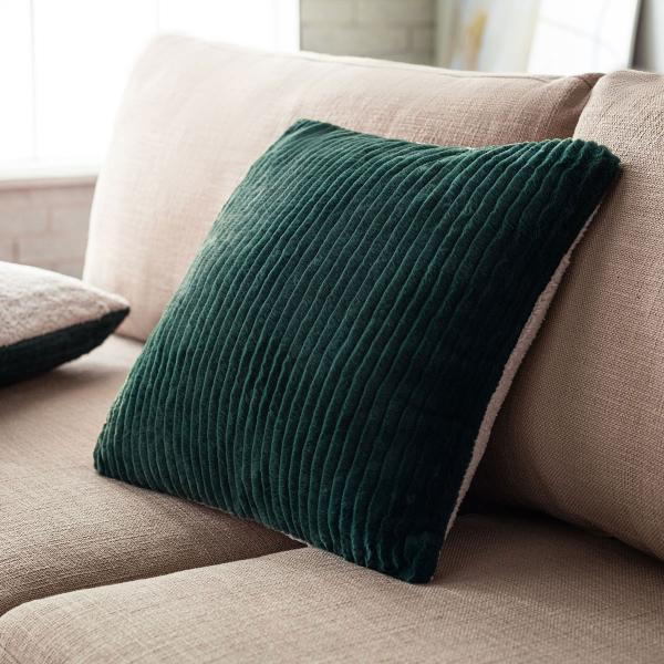 Διακοσμητική Μαξιλαροθήκη (43x43) Gofis Home Softy Pile Green 478/18