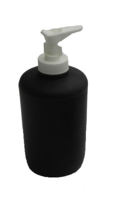 Δοχείο Κρεμοσάπουνου Viopros Bath Accessories Μαύρο