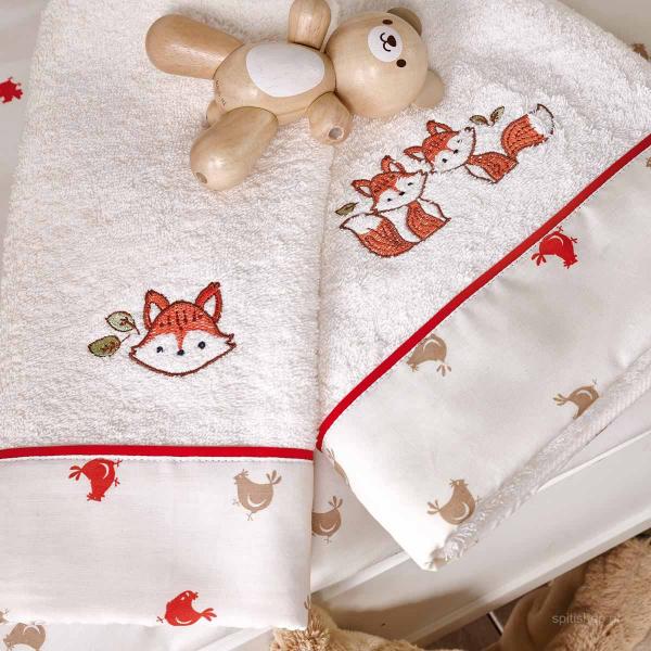 Βρεφικές Πετσέτες (Σετ 2τμχ) Kentia Kids Clever