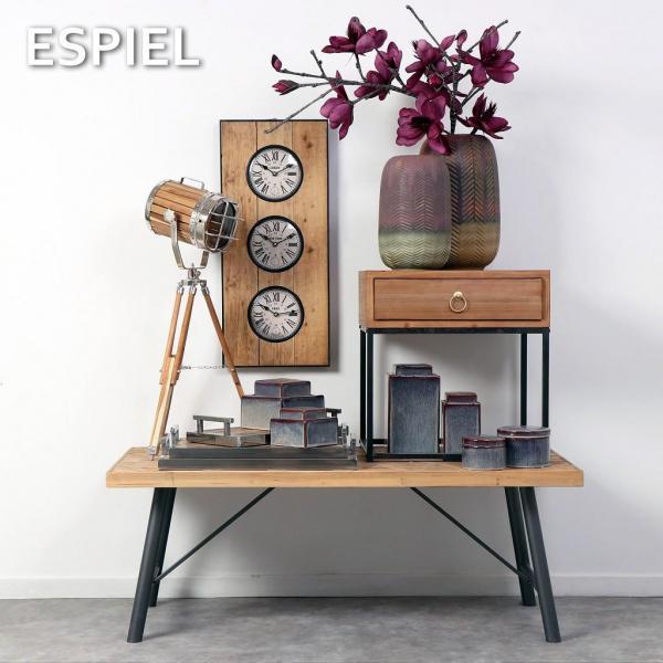 Ρολόι Τοίχου Espiel LOG522