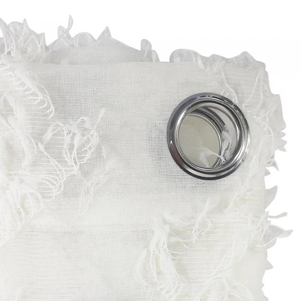 Κουρτίνα (140x280) Με Τρουκς L-C Dany Blanc 1626638