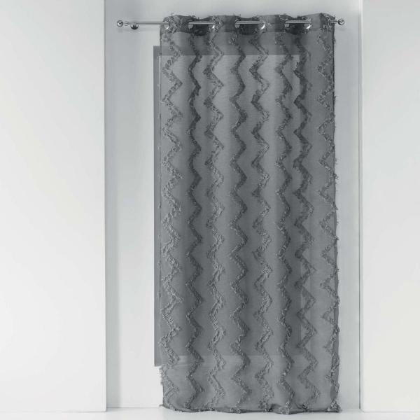 Κουρτίνα (140x280) Με Τρουκς L-C Dany Gris 1626641