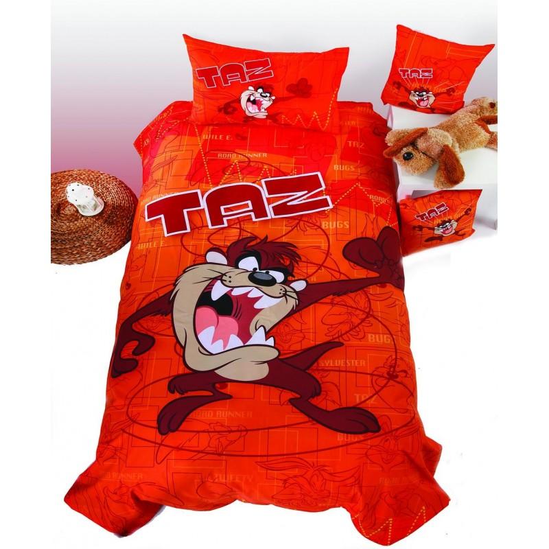 Ζεύγος Παιδικές Μαξιλαροθήκες Viopros Taz 10 Collection