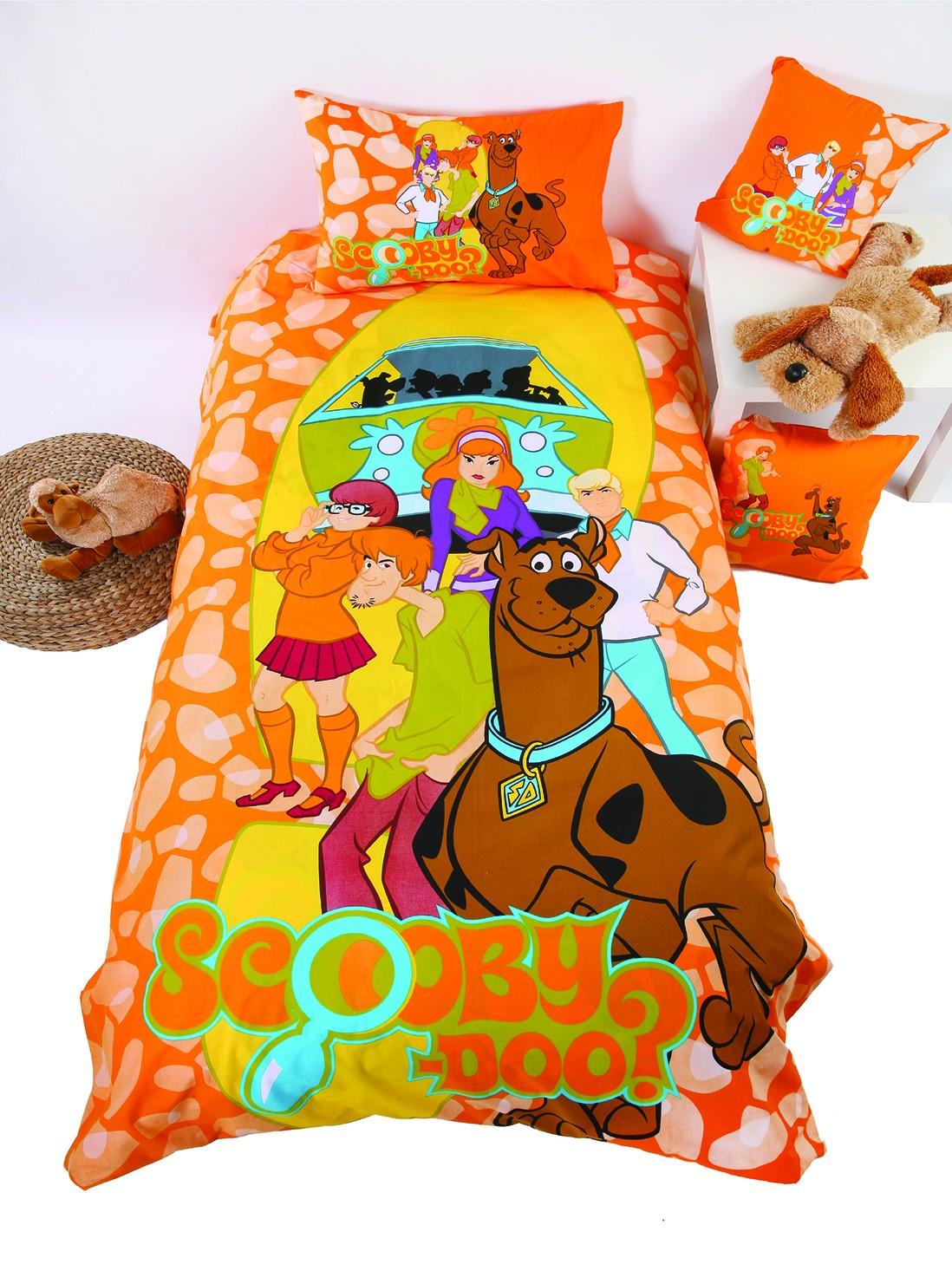 Ζεύγος Μαξιλαροθήκες Viopros Scooby-Doo Collection