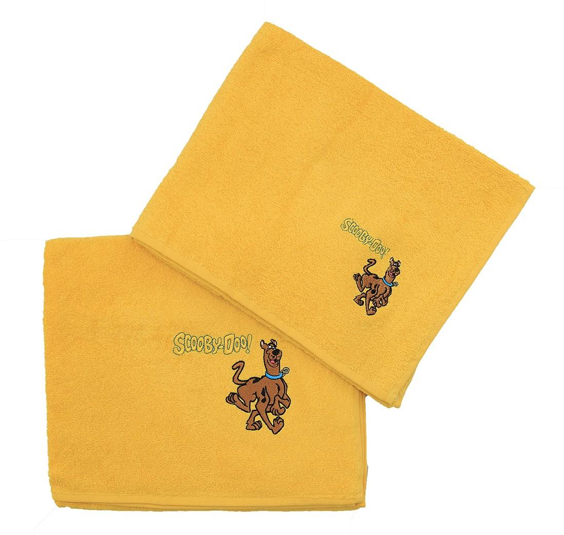 Παιδικές Πετσέτες (Σετ 2τμχ) Viopros Scooby-Doo Collection