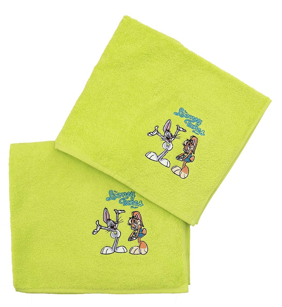 Παιδικές Πετσέτες (Σετ 2τμχ) Viopros PR. Looney Tunes