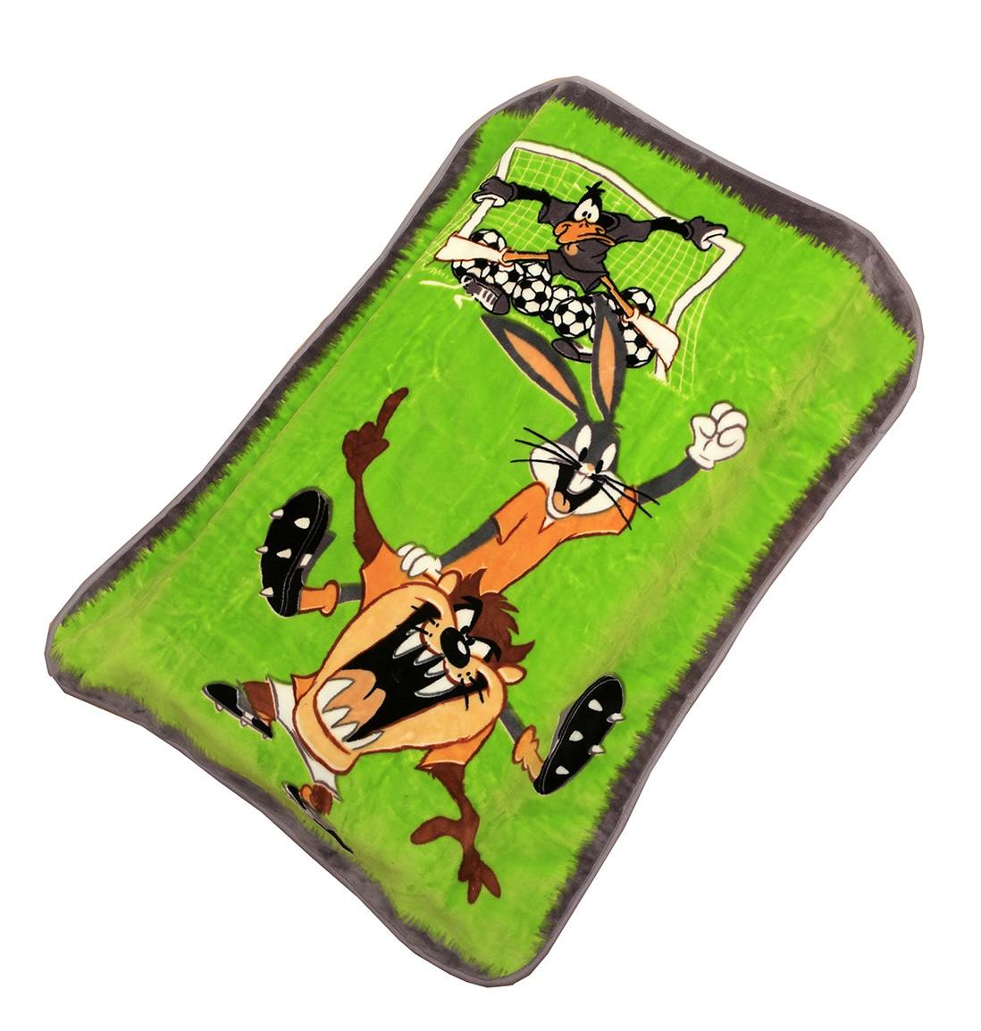 Κουβέρτα Βελουτέ Κούνιας Viopros Looney Tunes 1 Football