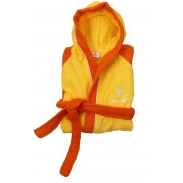 Παιδικό Μπουρνούζι Viopros Σπορτ Κίτρινο-Πορτοκαλί