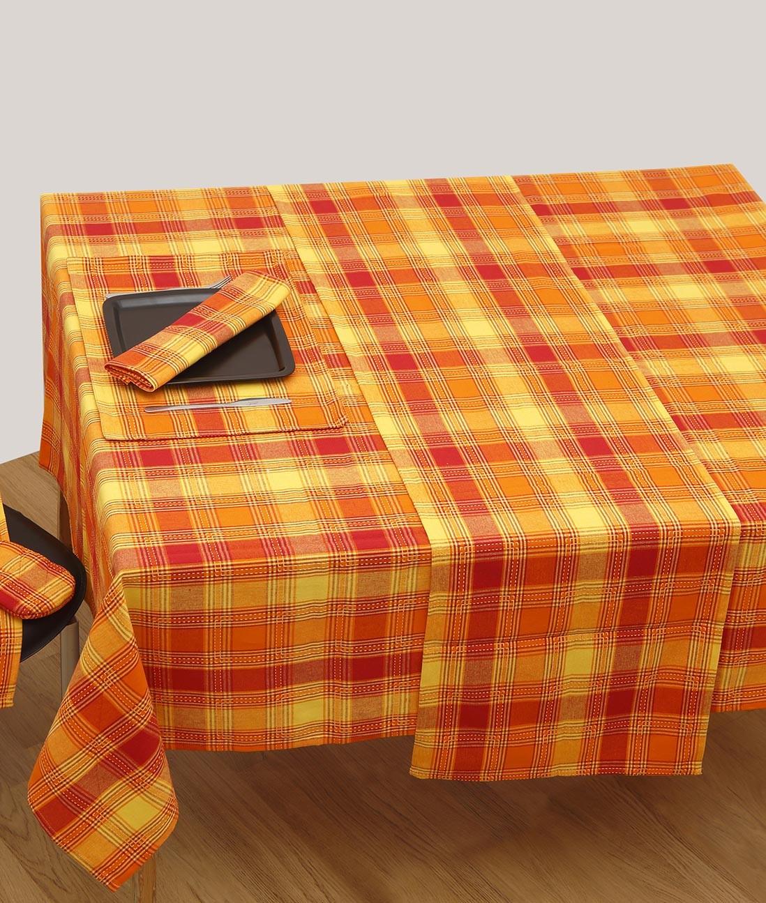 Τραβέρσες Φαγητού (Σετ 2τμχ) Viopros 580 Τερρακότα