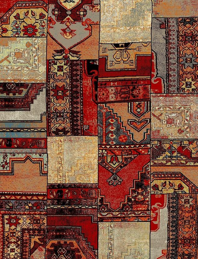 Χαλί (133x190) Viopros Σιράζ