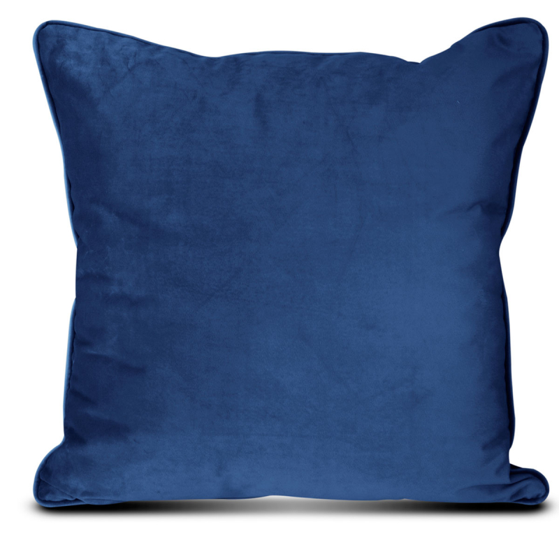 Διακοσμητικό Μαξιλάρι Βελούδινο (45x45) Elite Velour Blue