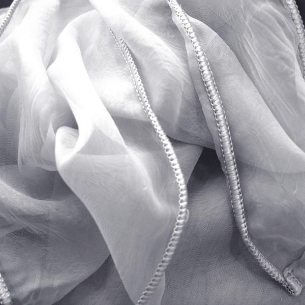 Κουρτίνα Τσαλακωτή (140x270) Με Τρέσα Elite Valeria Grey