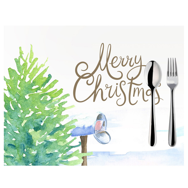 Χριστουγεννιάτικα Σουπλά (Σετ 2τμχ) Mike & Co 790-3850-1