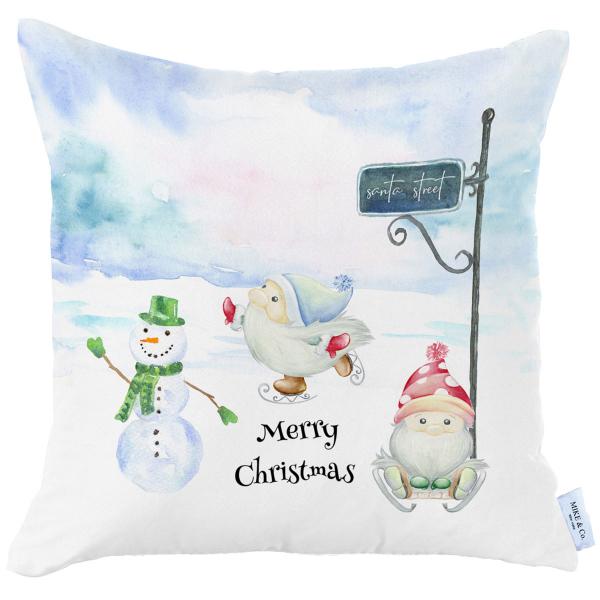 Χριστουγεννιάτικη Μαξιλαροθήκη (45x45) Mike & Co 712-3840-1