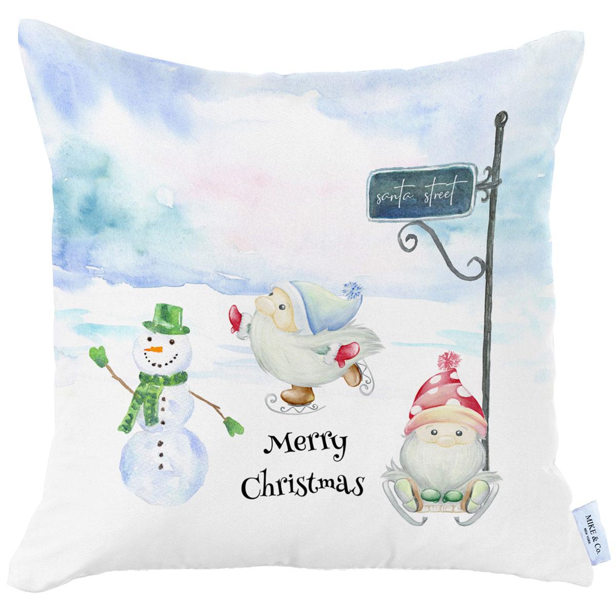 Χριστουγεννιάτικη Μαξιλαροθήκη (45×45) Mike & Co 712-3840-1